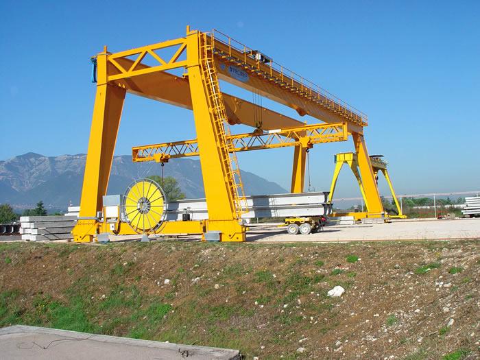 ellsen hydraulic gantry crane