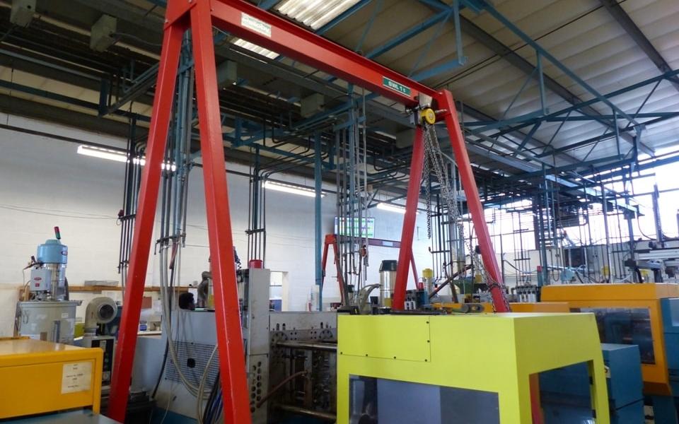 small gantry crane from ellsen supplier