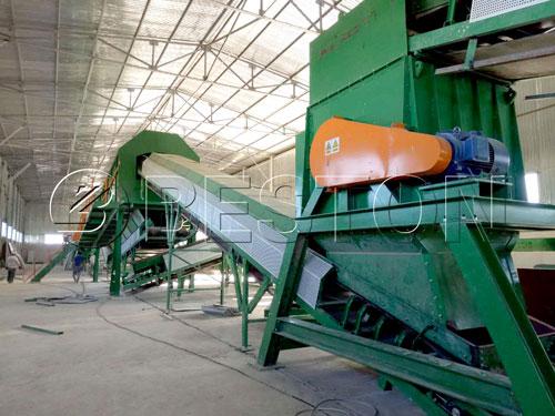 waste management machine