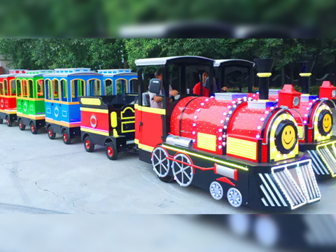 new Trackless Train Rides tomac