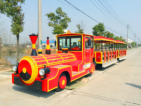 Trackless Train Rides for sale