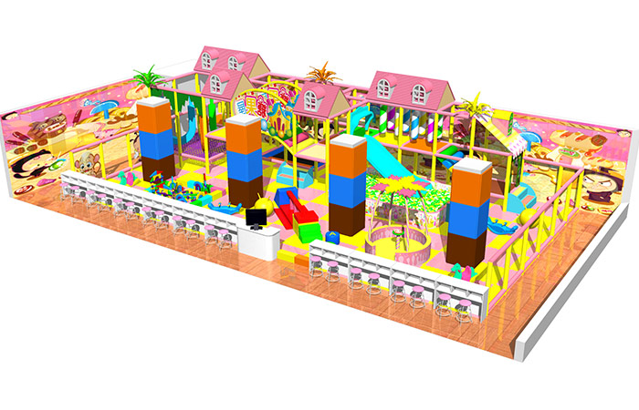 Kids Indoor Playland Equipment