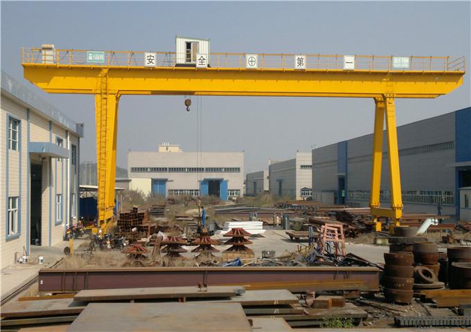 High quality double girder gantry crane 25 ton