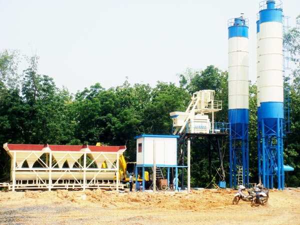 HZS75 batching plant pakistan